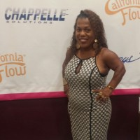 Tonya Banks - Little Women LA star visits the Healthy Hair Bar Salon