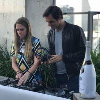 Roger Federer Spotted at Sugar at EAST, Miami During Miami Open