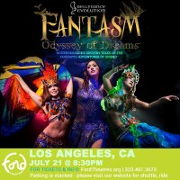 Friday night July 21: 'Fantasm - Odyssey of Dreams' Bellydance Evolution's adventures of Sinbad through Middle Eastern and Contemporary Dance at the Ford