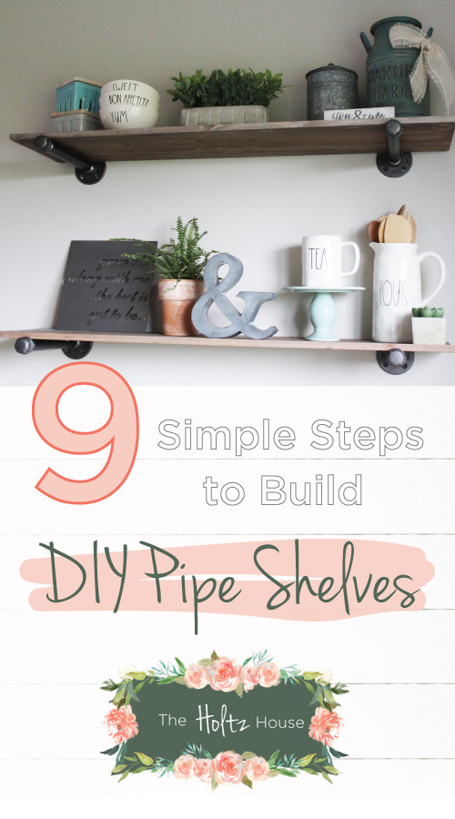 How To Build Pipe Shelves