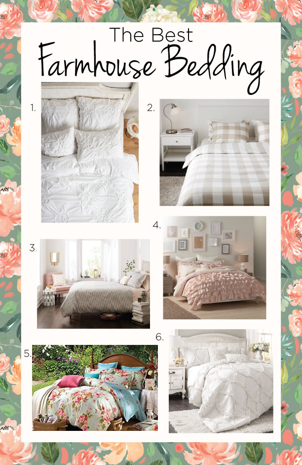 The Best Farmhouse Bedding On A Budget