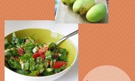 Jennifer's Peach-Mango Salad Dressing