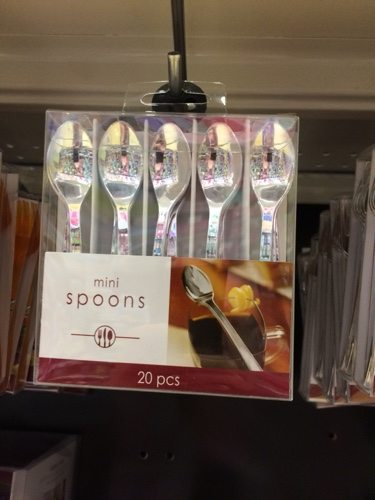Mini-Spoons are a must for your shot glass or mini shooter party
