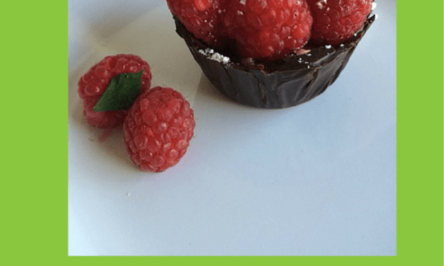 Chocolate Raspberry Mousse Cups of Awesomeness