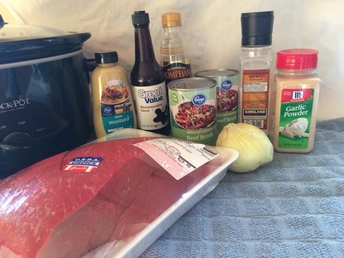 French Dip Ingredients