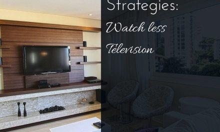 Weight Loss Strategies: Watch Less TV