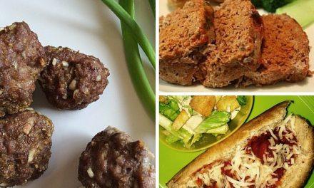 Ground Beef Mixture 6 Ways