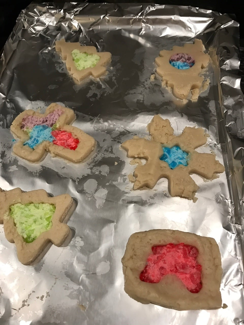Stained Glass Window Cookies The Holy Mess