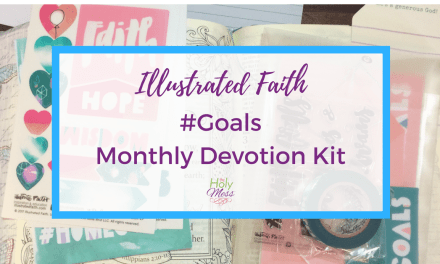 Illustrated Faith #Goals Monthly Devotional Kit
