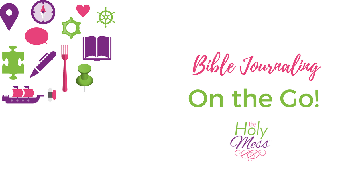 Bible Journaling On the Go!