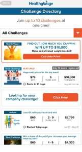 Healthy Wage Diet Betting App