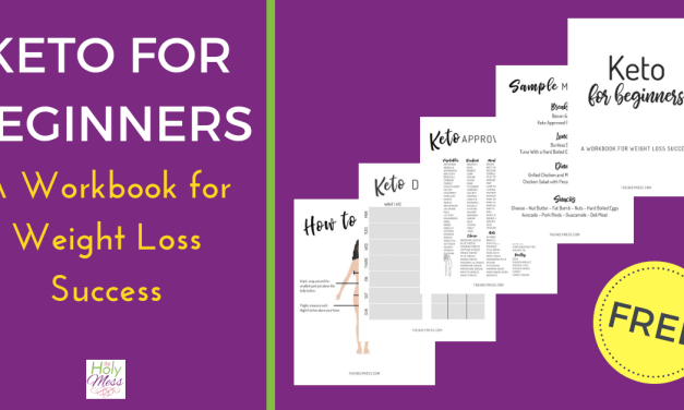Free Printable Keto for Weight Loss Workbook