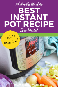 What is the Absolute Best Instant Pot Recipe Ever Made? #instantpot #instapot #recipe #dinner