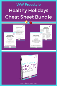 WW Freestyle Cheat Sheet Bundle - Healthy Holidays #freestyle #weightwatchers
