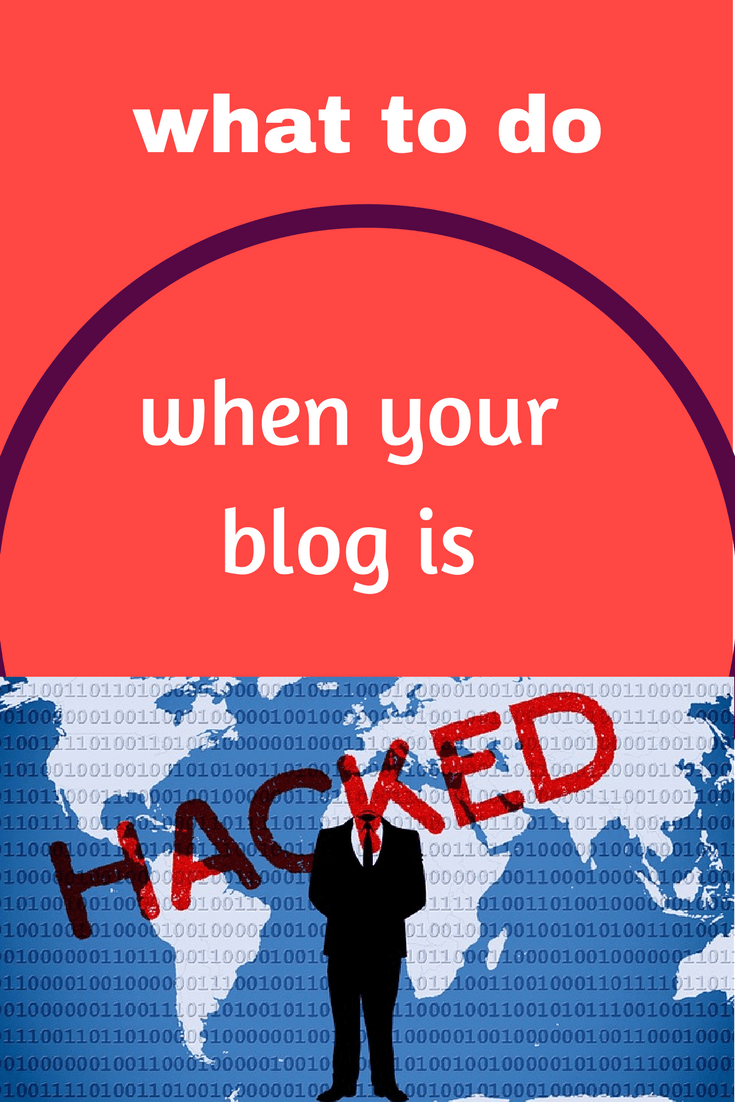 What to do when your Blog is hacked
