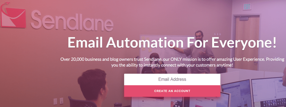 SENDLANE Email marketing software