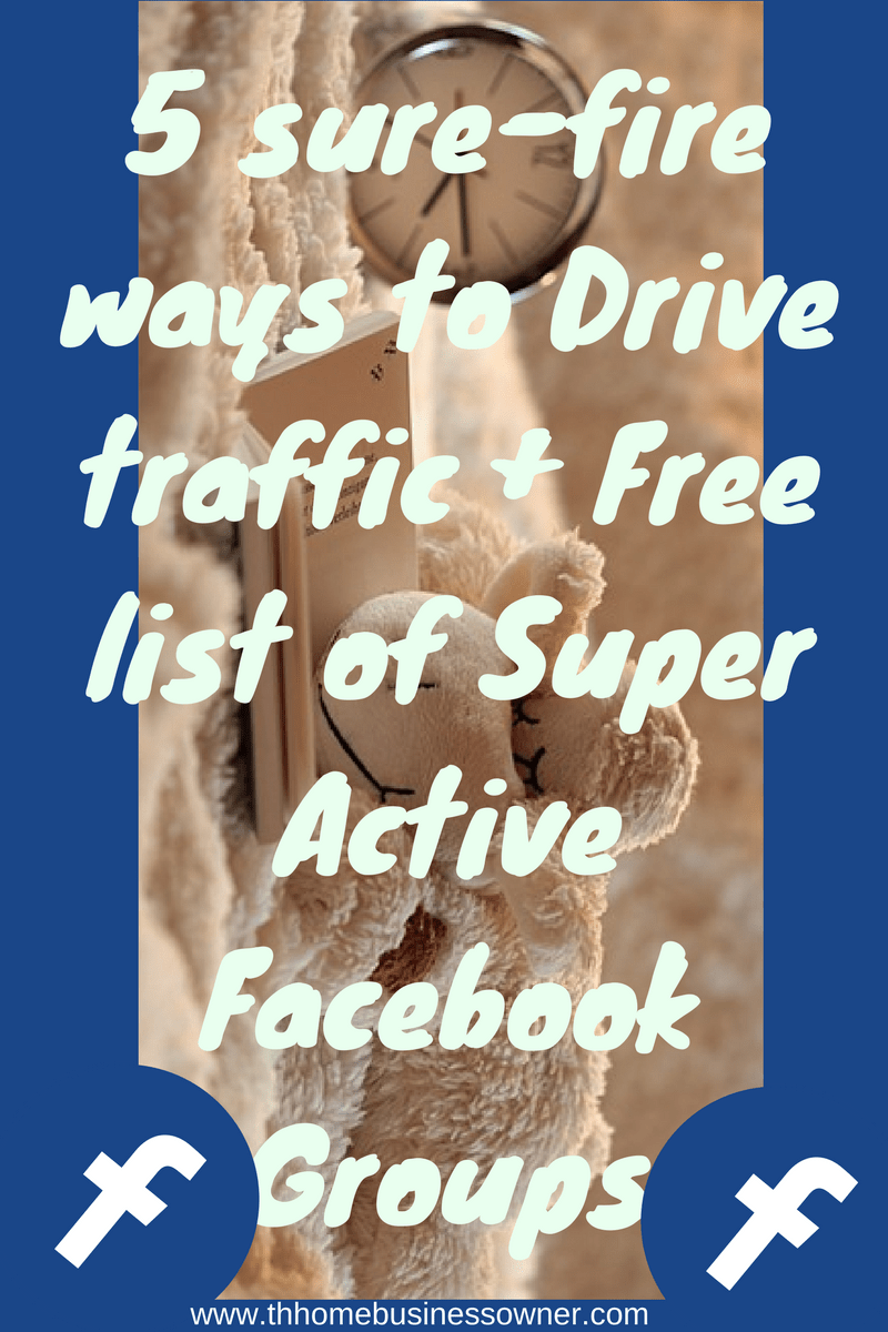 5 proven strategies for driving traffic to your site + free facebook group list