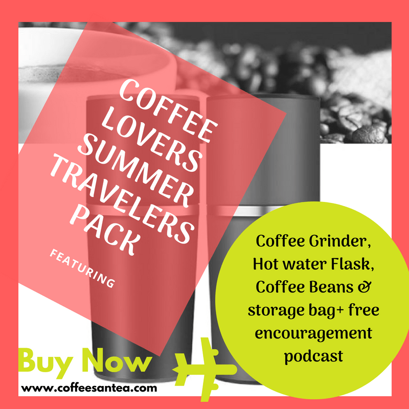 Coffee lovers travelers bundle