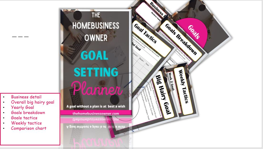Goal setting worksheet pdf