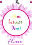 The home business owner Planner