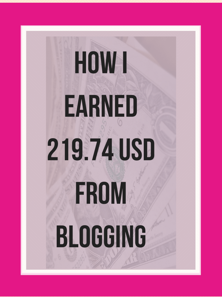 Income report on how I made money from blogging.