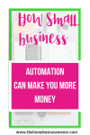 How Small Business Automation Can Make You  More Money.