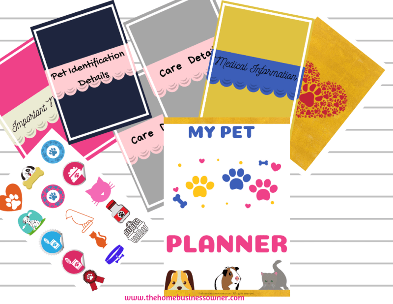 Pet planner- A tool for planning all your Pet needs.