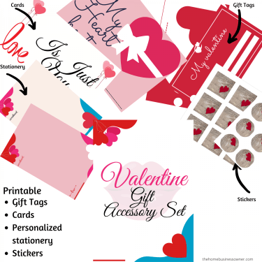 Valentines day gift accessory set- Valentine's day business ideas