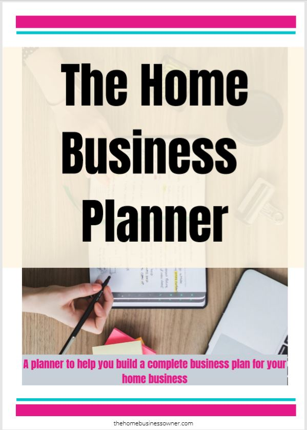 Home Business Planner- How to start a boutique from home