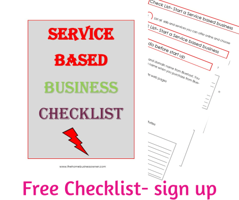 Service based business checklist