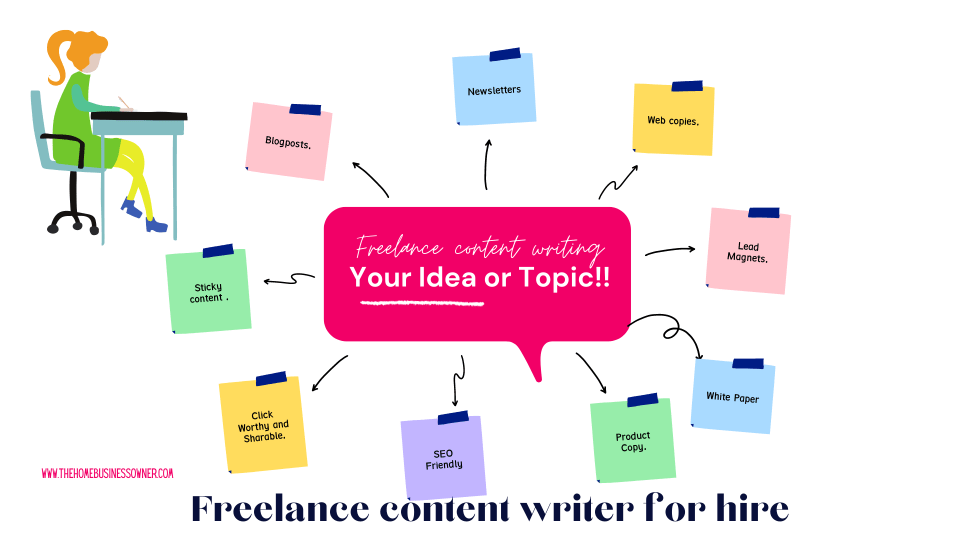 Freelance content writer that pours life into your writing.