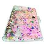 6 Rings Binder Spiral Planner Organizer Cover A5/A6