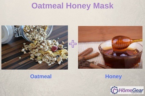 Oatmeal Honey Mask