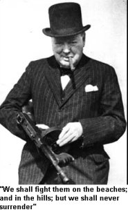 Mr. Churchill's favorite gun