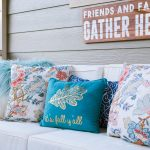 Easy Diy Throw Pillow Covers Using Cloth Napkins The Home I Create