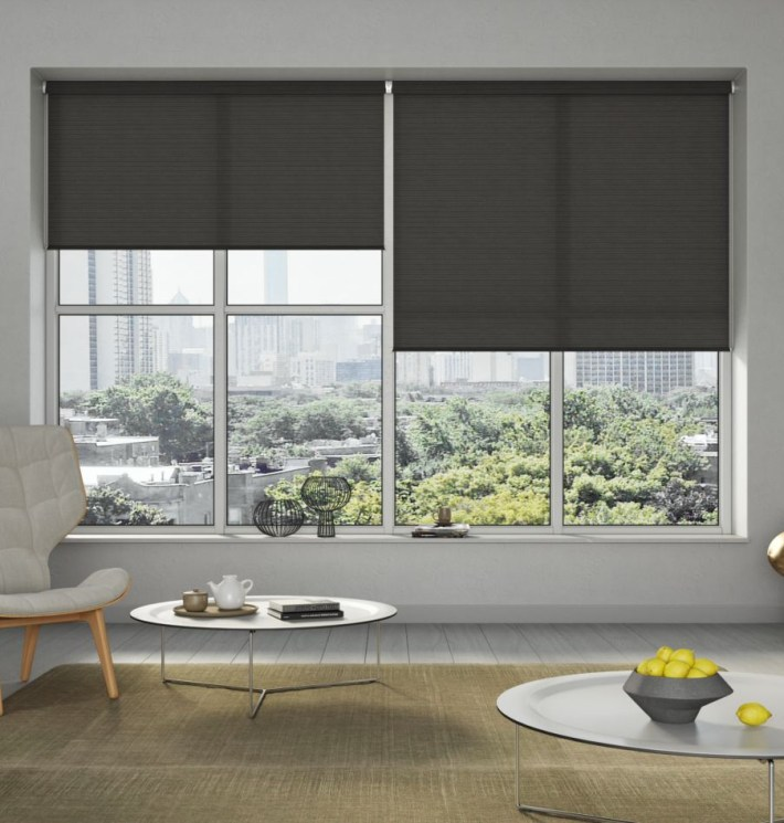 Examples of roller window blinds