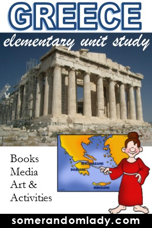 Elementary Unit Study - Greece