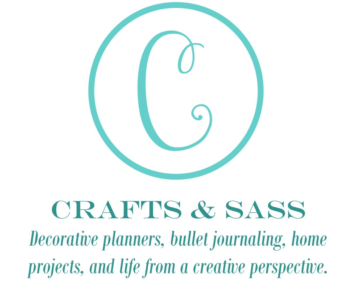 Crafts & Sass: decorative planners, bullet journaling, home projects, and life from a creative perspective.