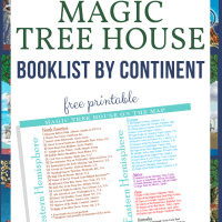 Read Around the World with The Magic Tree House Map
