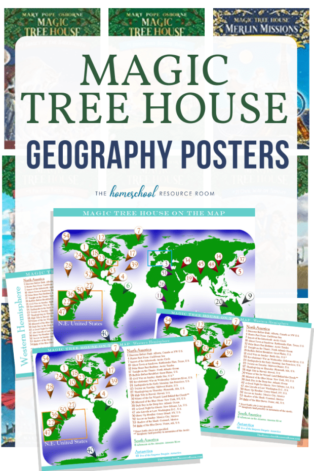 Read around the world with the Magic Tree House! Introduce elementary geography and map skills while you travel the world with Jack and Annie!