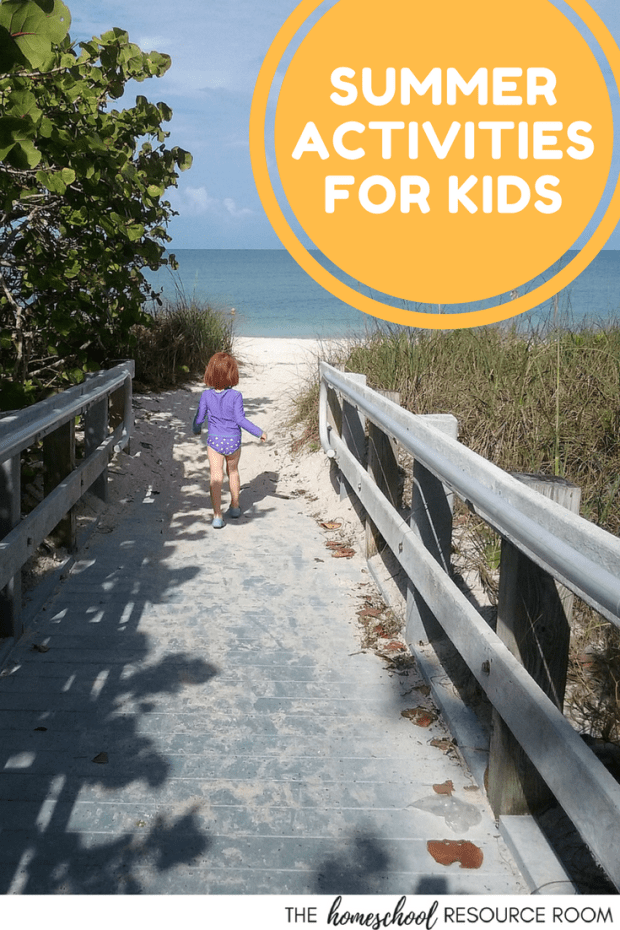 Big list of things to do with kids in the summer! Ideas, links, and resources for families with young children.