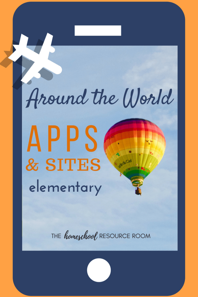 Best around the world apps and sites for kids! Supplements for your elementary geography and continent studies.