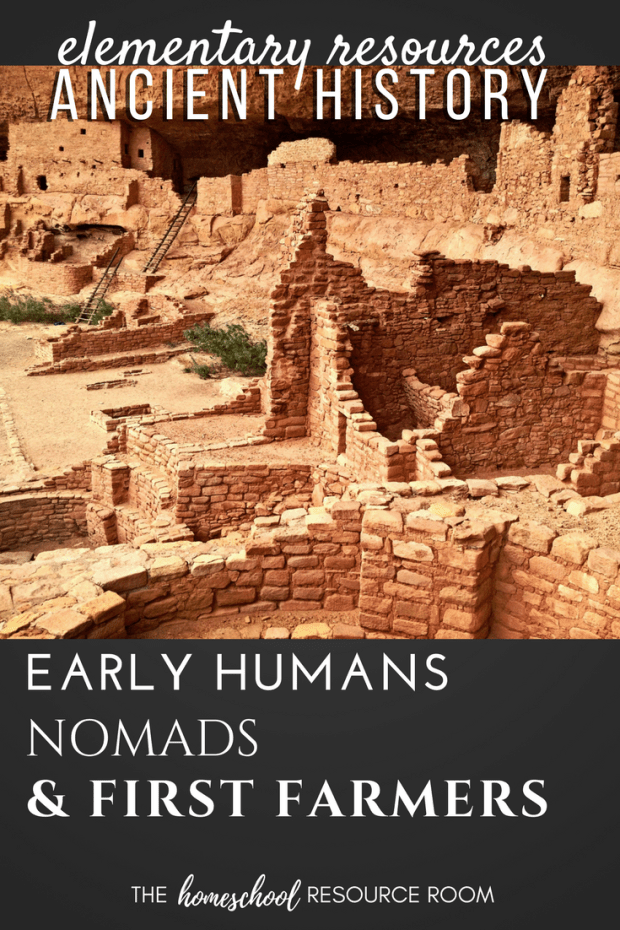 Early Civilizations for kids - activities, books, and media resources for your ancient history studies. Appropriate for elementary ages.