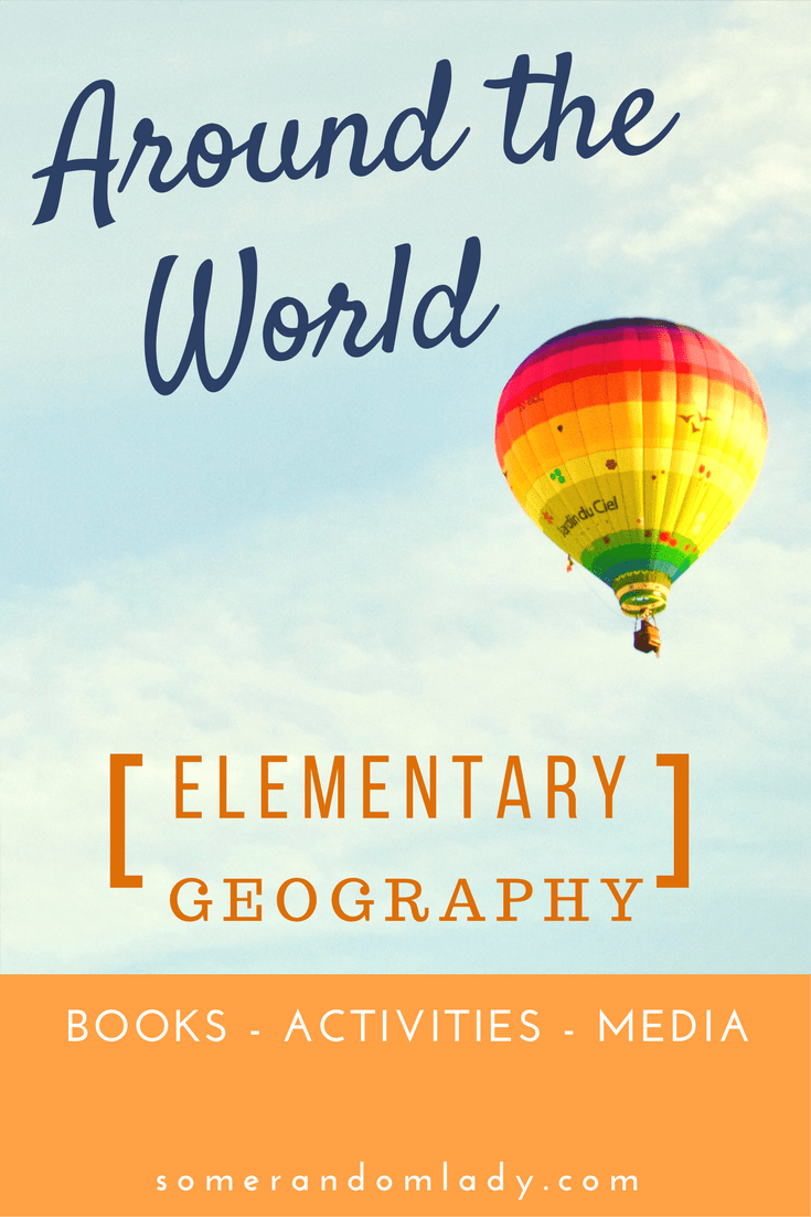 Around the World in 5 Days: Elementary Continent Studies
