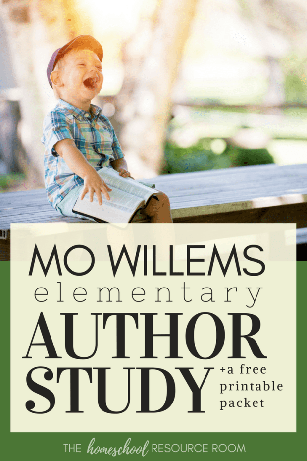 Mo Willems Author Study. These books and activities are appropriate to share in a classroom or for your homeschool! This guide provides book recommendations, reading resources, author links, and project ideas.
