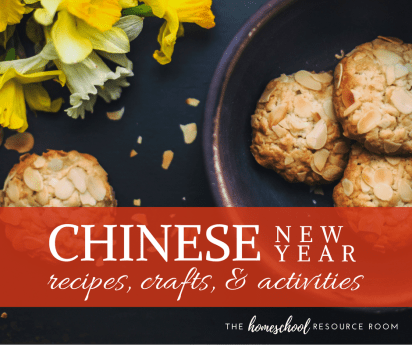 Recipes, crafts, and activities for Chinese New Year!