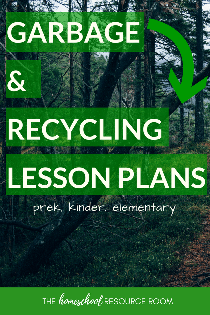 FUN Garbage and Recycling Lesson Plans for Kindergarten, Preschool, Elementary