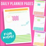Daily Planner Tween