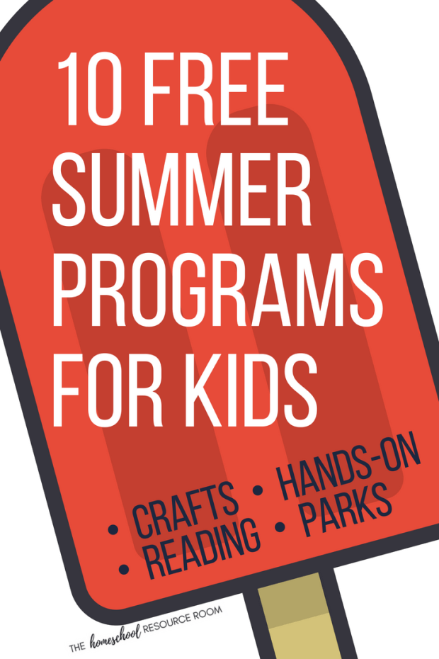 10 Free Summer Programs For Kids For Fantastic Fun Learning