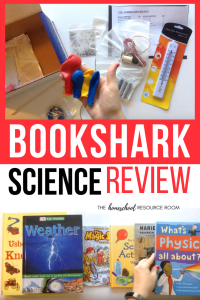 A full BookShark review. Take a look at BookShark Science, Level 2 and what sets this homeschool science curriculum apart from the rest!